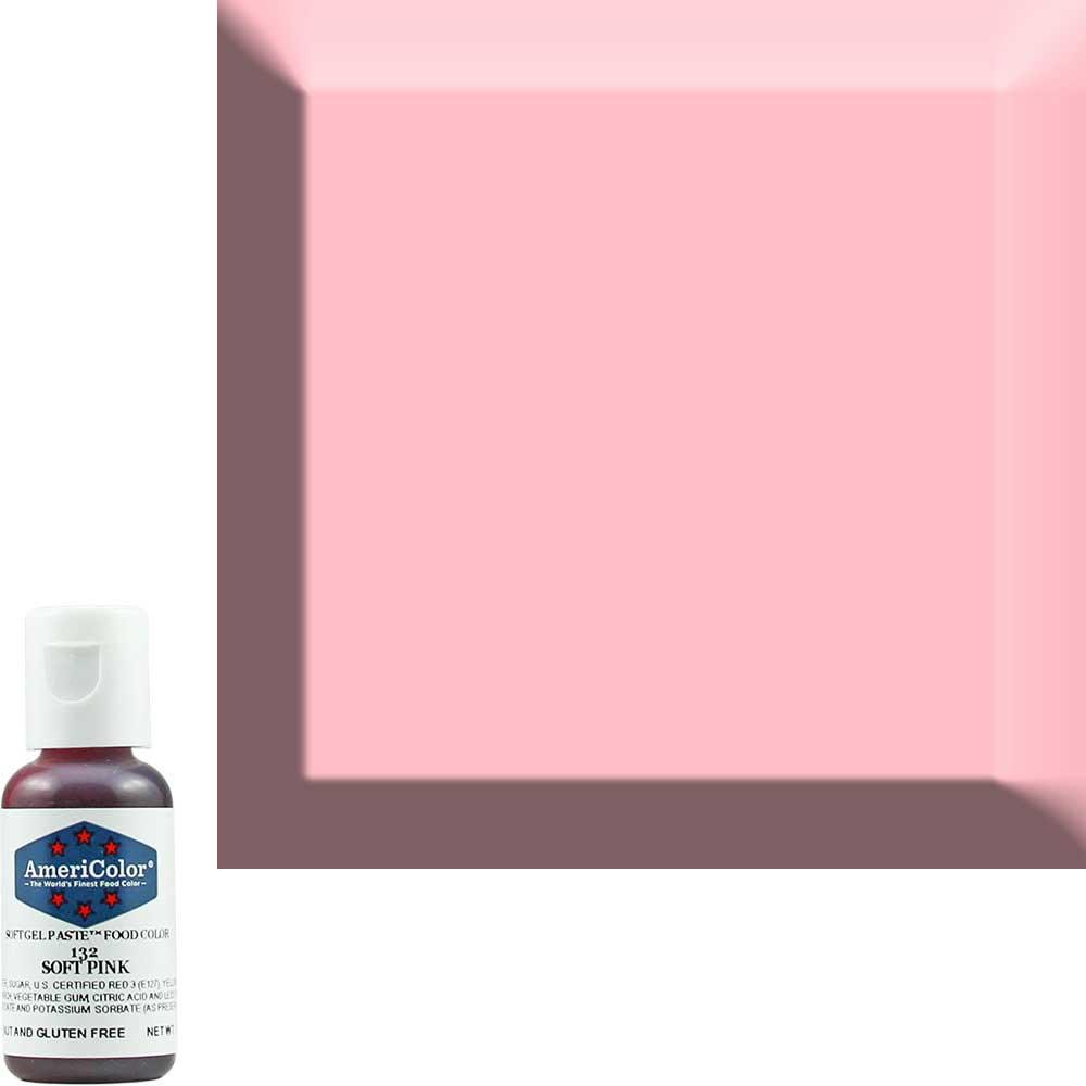 Краситель гелевый Americolor (Америколор) Нежно-Розовый 132