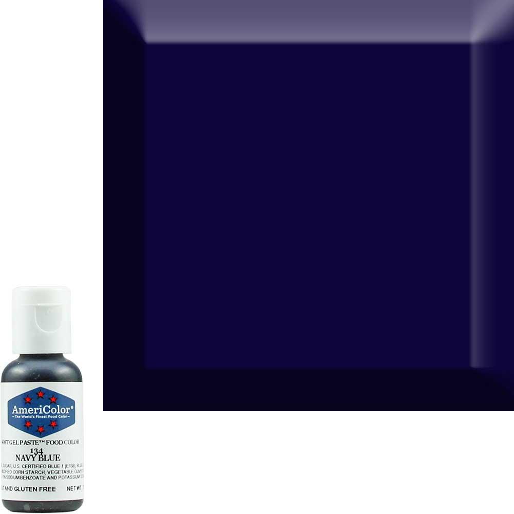 Краситель гелевый Americolor (Америколор) Темно-Синий 134