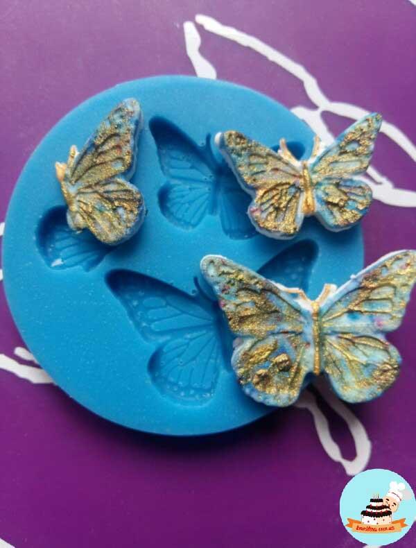 Молд бабочки 3