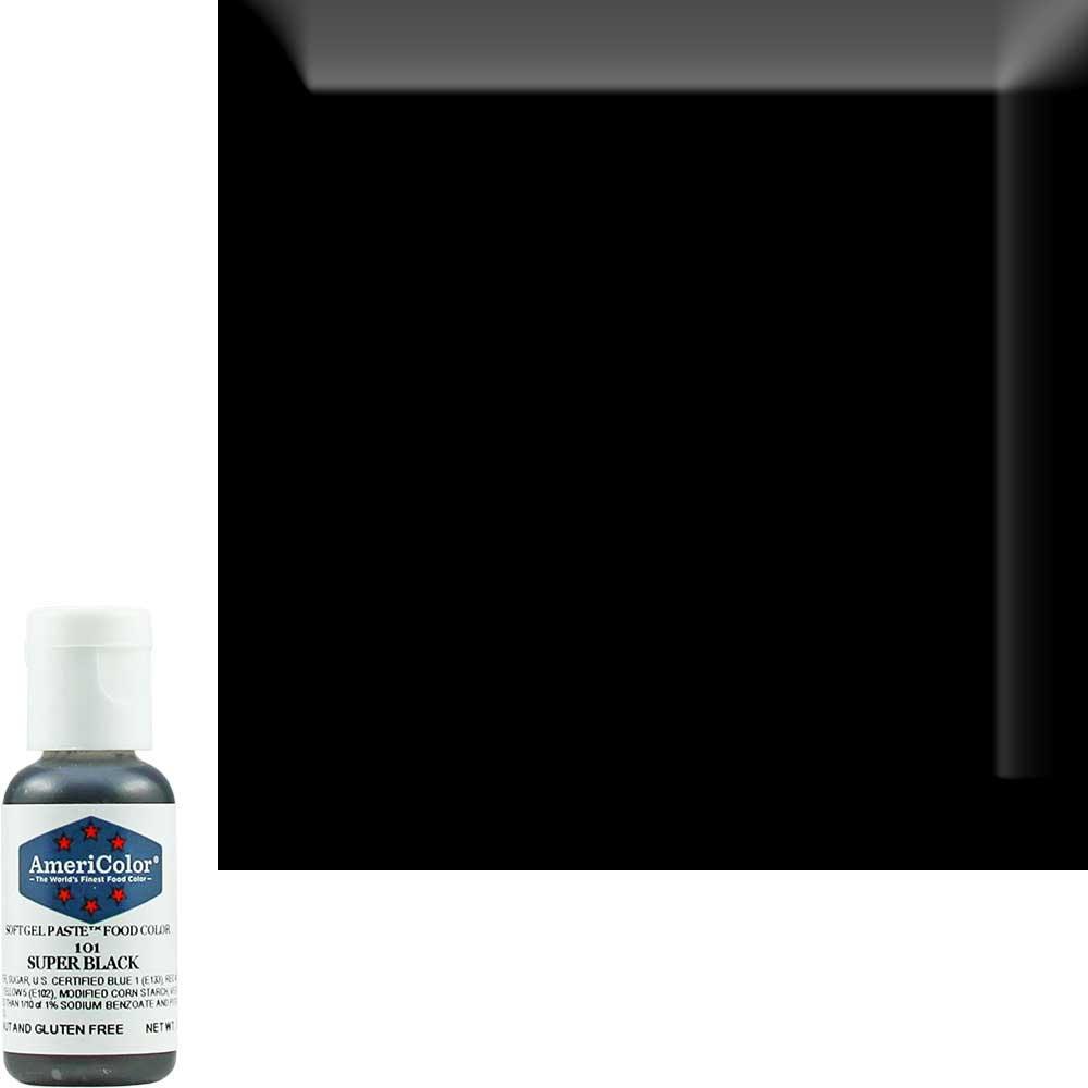 Краситель гелевый Americolor (Америколор) Супер Черный 101