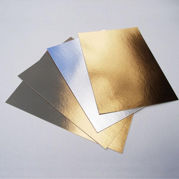 Подложка под торт золото/серебро 30х40 см от 5 шт