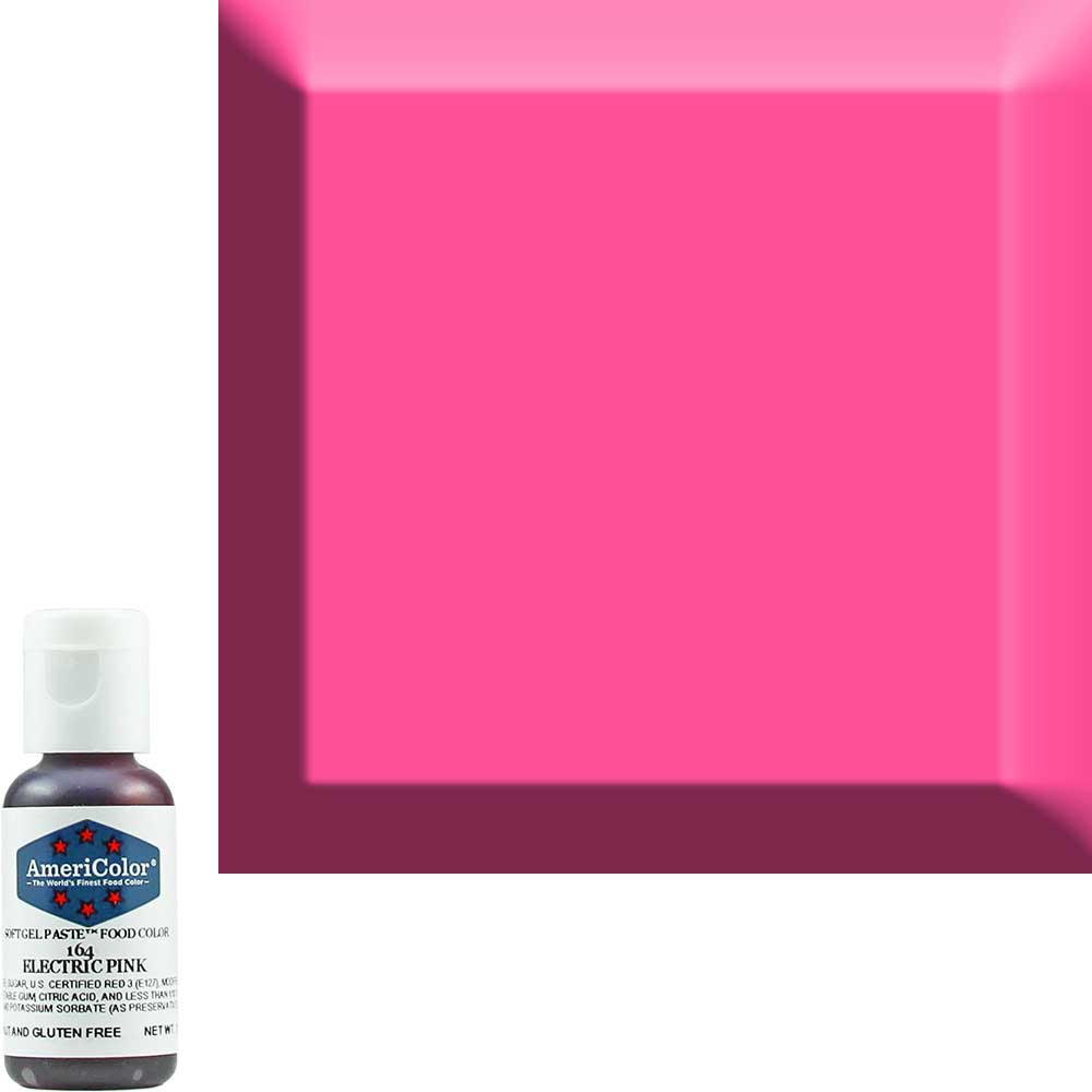 Краска гелевая Americolor(Америколор) Розовый-Электрик 164