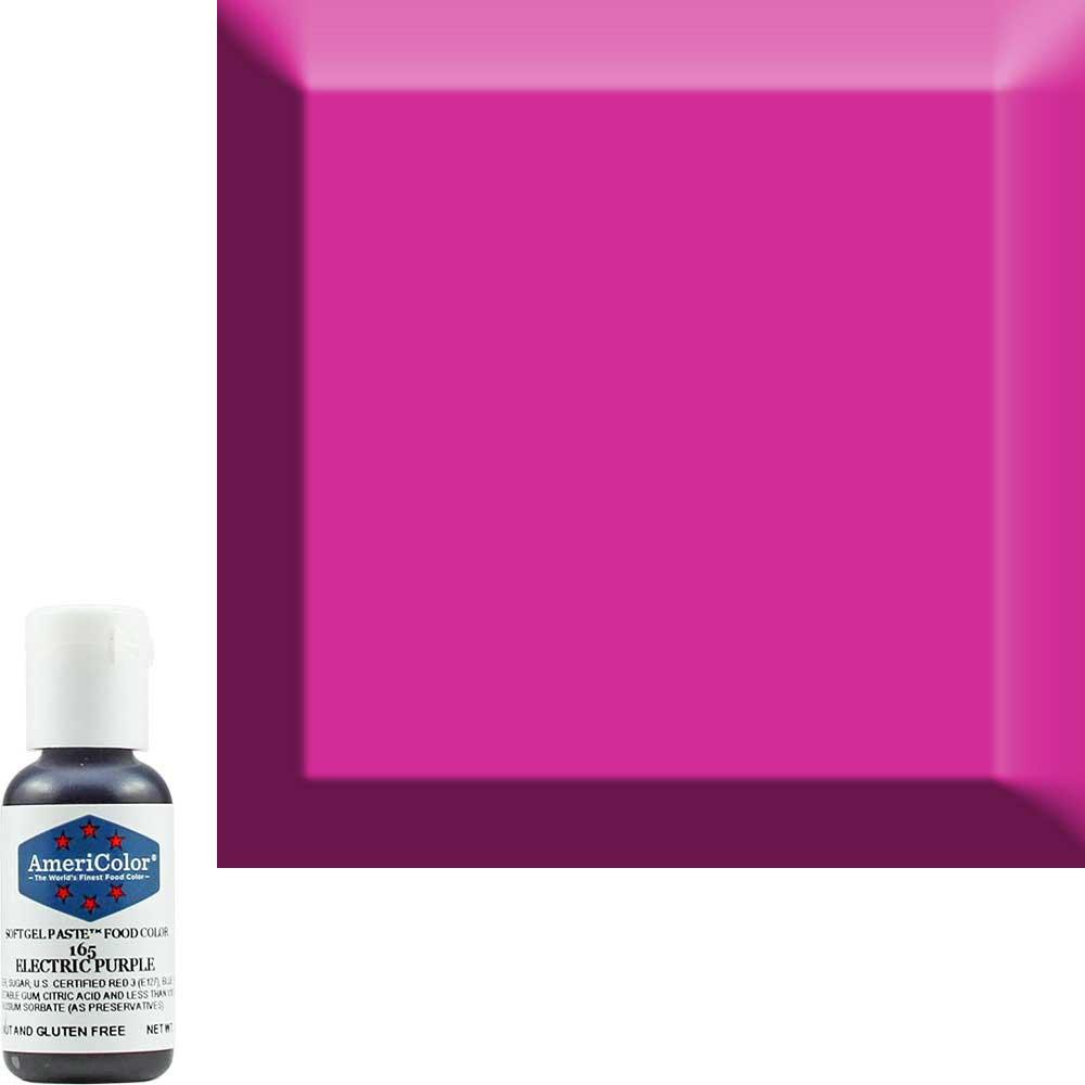 Краска гелевая Americolor (Америколор) Фиолетовый-Электрик 165