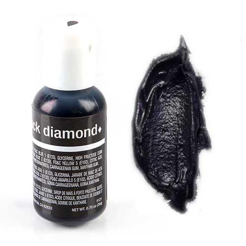 "Гелевый краситель Chefmaster black diamond / черный бриллиант"".20 гр (США)"