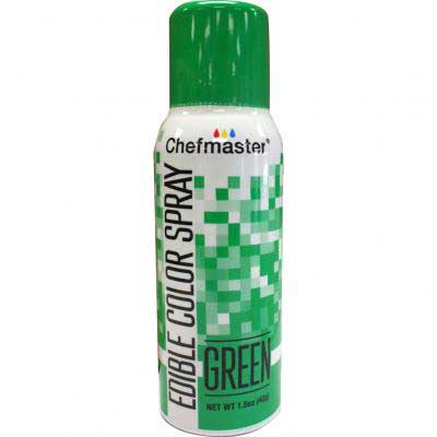 Краска-спрей Chefmaster, Edible Color Spray, (зеленый).