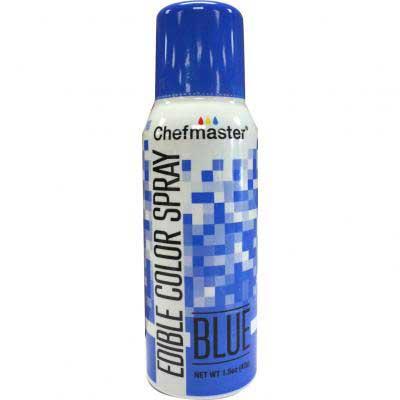 Краска-спрей Chefmaster, Edible Color Spray, (синий).