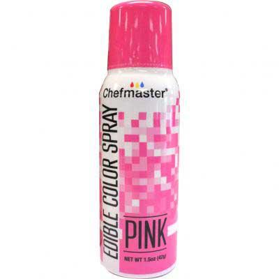 Краска-спрей Chefmaster, Edible Color Spray, (розовый).