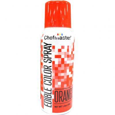Краска-спрей Chefmaster, Edible Color Spray (Оранжевый)