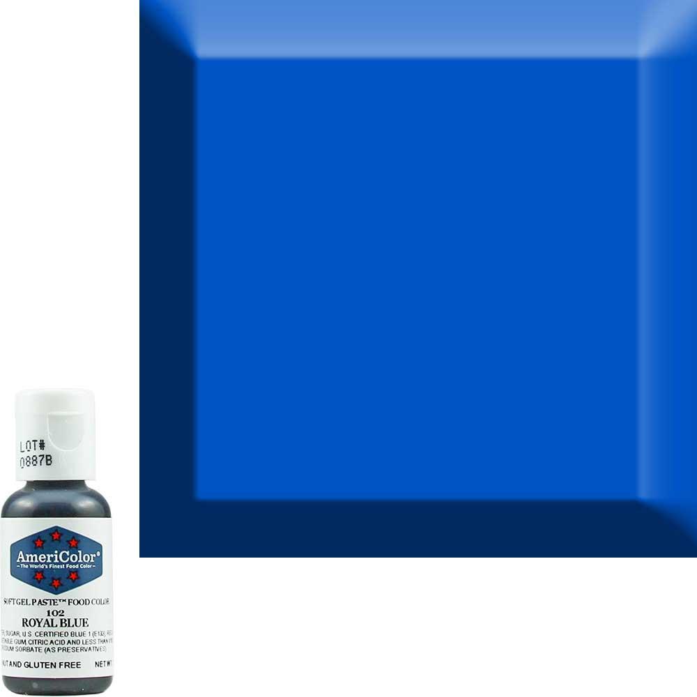 Краситель гелевый Americolor (Америколор) Королевский Синий 102