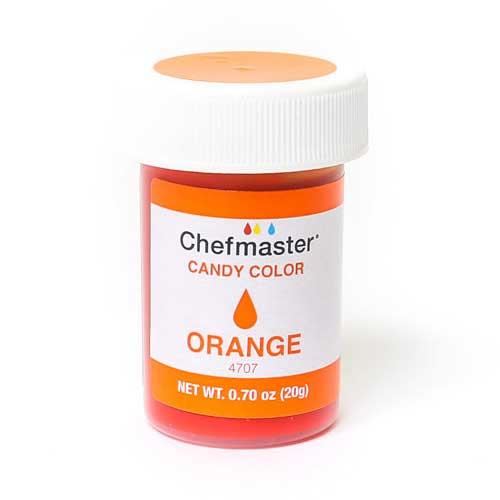 Chefmaster краситель для шоколада оранжевый 20 г