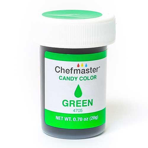 Chefmaster краситель для шоколада зеленый 20 г