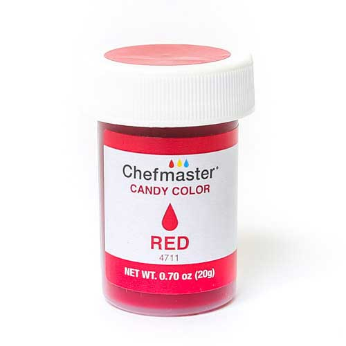 Chefmaster краситель для шоколада  красный20 г