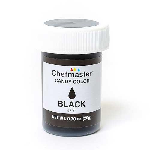 Chefmaster краситель для шоколада  черный 20 г