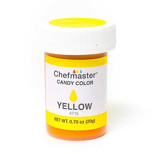 Chefmaster краситель для шоколада желтый 20 г