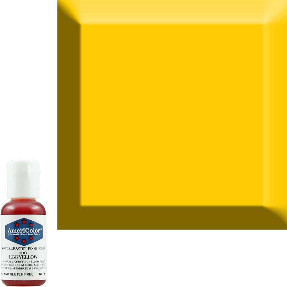 Краситель гелевый Americolor Яично-Желтый 106