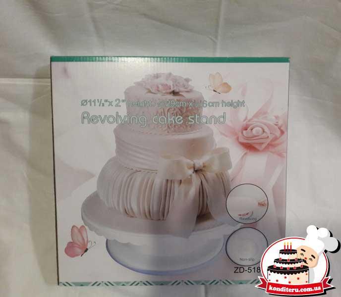 Подставка для торта крутящаяся (низкая)