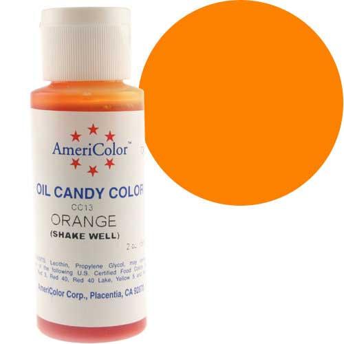Краситель масляный Америколор Оранжевый Вес 56 грамм