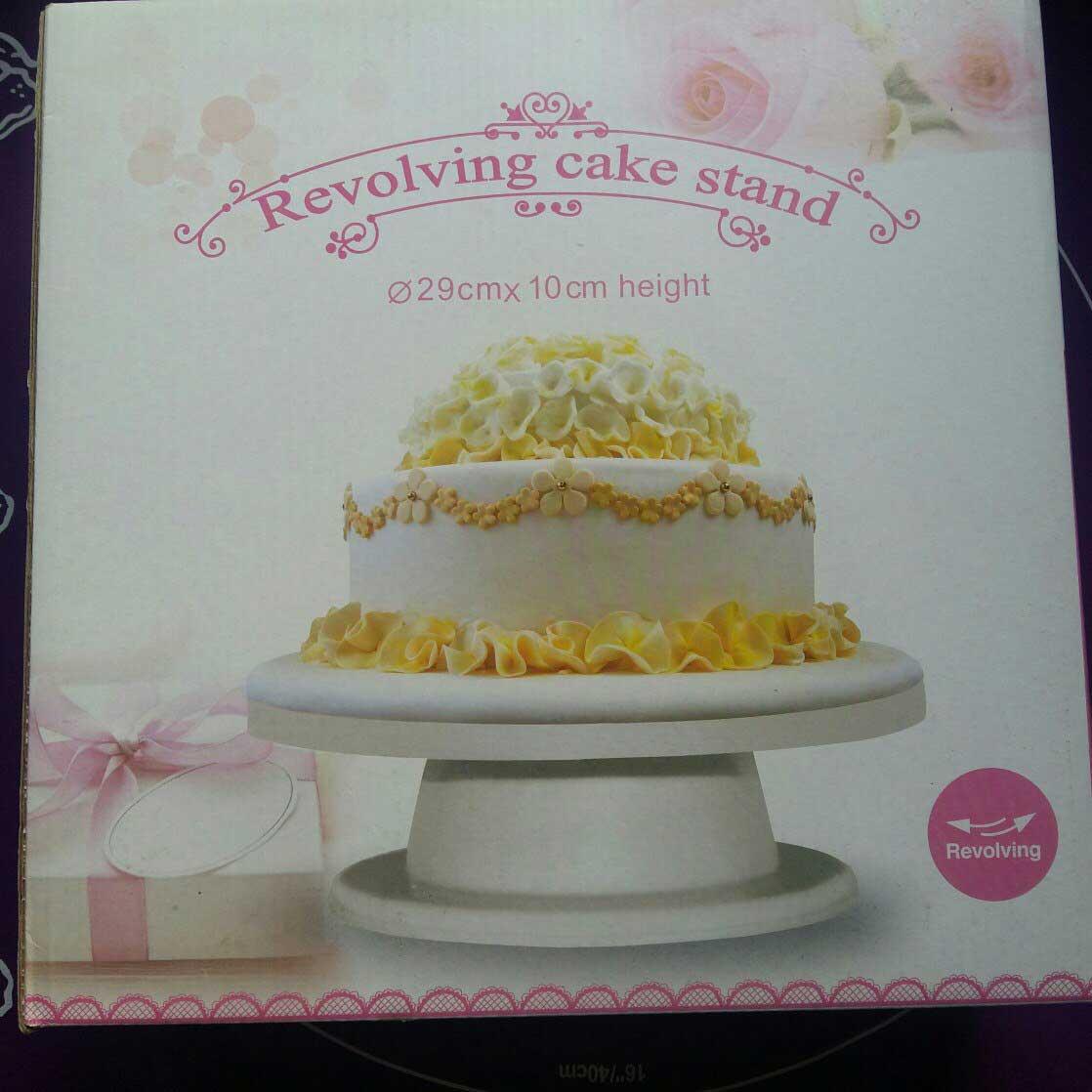 Подставка для торта крутящаяся високая