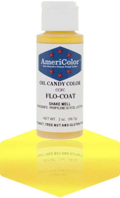 Добавка жирорастворимая для окрашивания шоколада Americolor Flo Coat
