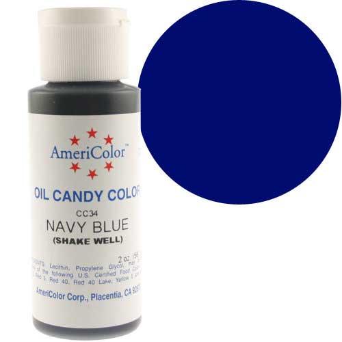 Краситель масляный Америколор Синий Вес 56 грамм