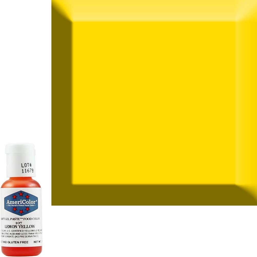 Краситель Americolor Лимонно-Желтый 107