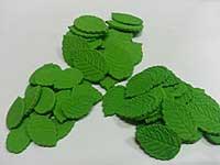 сахарные листочки для цветов и букетов