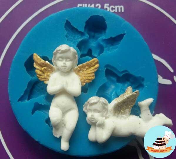 Силиконовые молды ангела, крылья и феи