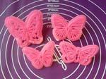 Набор резаков-штампов Бабочки 4ш