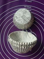 Тарталетки бумажные для кексов 5 см на 2.5 см