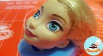 Молд Лицо королева Эльза 3 D  Холодное сердце