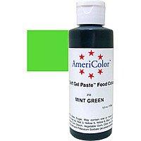 Гелевая краска Америколор Зеленая мята,  128 грамм