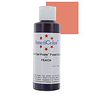 Гелевая краска Америколор - Персик, 128 грамм