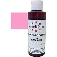 Гелевая краска Америколор Темно розовый по 128 грамм