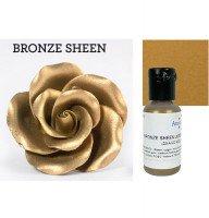 Краситель гелевый сверкающий Бронзовый Bronze Sheen AmeriColor, 20 г