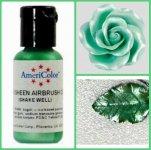 Краситель гелевый сверкающий Зелёный Green Sheen AmeriColor, 20 г