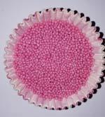 Посыпка Нонпарель круглая  розовая